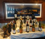 Trypp Inspecting Wine Selection